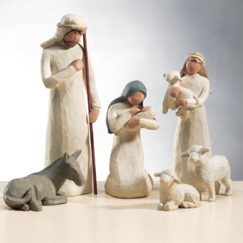 Die HEILIGE FAMLIE Nativity Krippenfiguren von Willow Tree