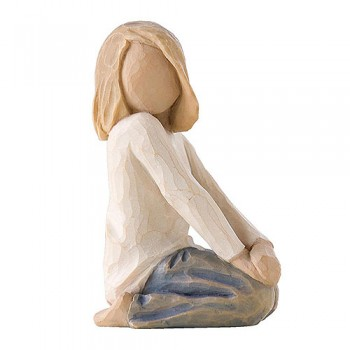 Verspieltes Kind Joyful Child Figur von Willow Tree