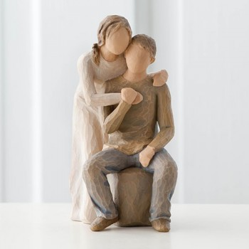 Du und Ich You and Me Figur von Willow Tree