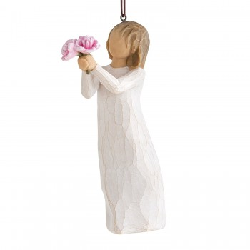 Danke Thank you Ornament Hänge Figur von Willow Tree