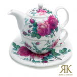Roy Kirkham English Rose Tea for One 3tlg
