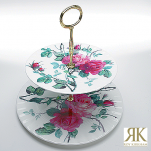 Roy Kirkham English Rose Etagere 2-stufig